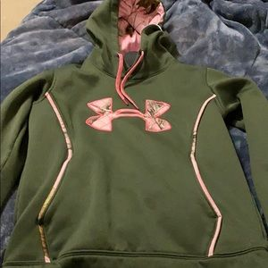 Under Armor hoodie with camo
